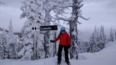 Skiing at Mission Ridge